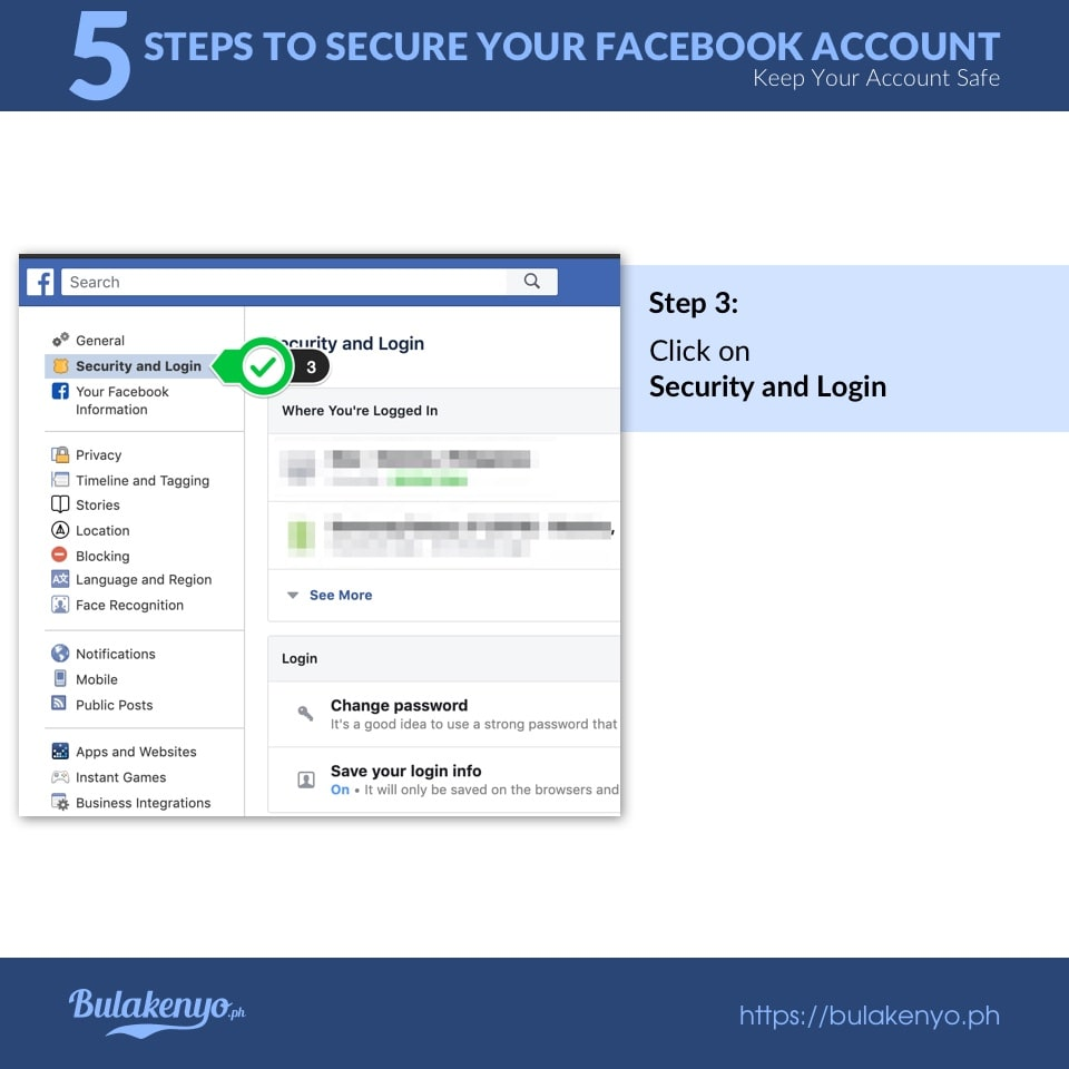 5 Steps To Secure Your Facebook Account 3