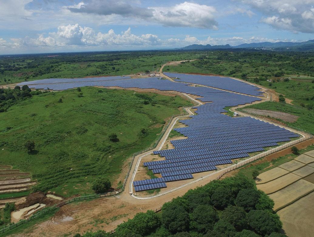 San Miguel Corp 200-MW solar farm