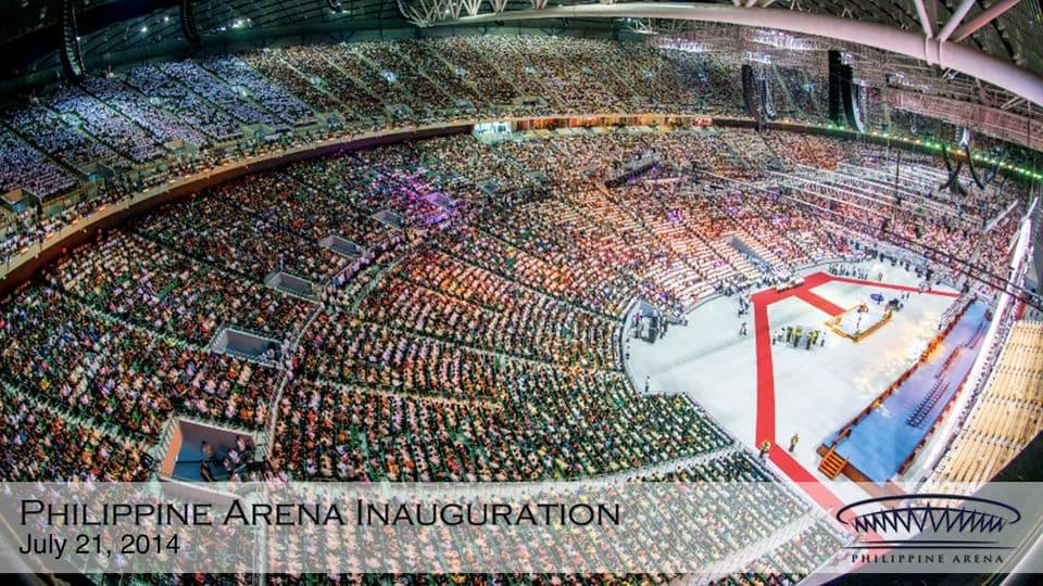 Philippine Arena Inauguration