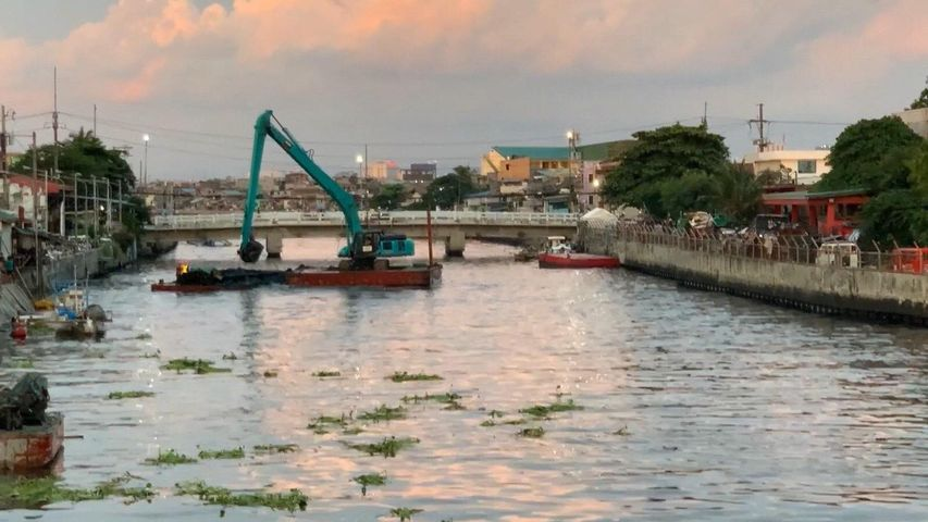Flood control projects in Bulacan