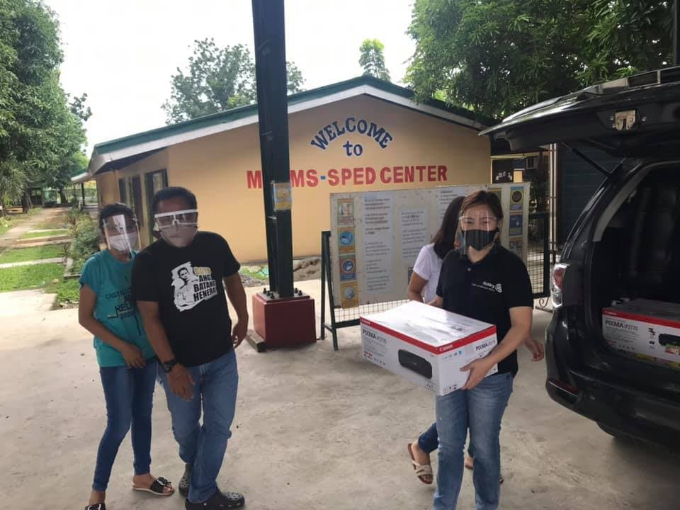 Rotary Club of Malolos Hiyas donates PhP1.5M worth of COVID Test Booths, Antigen Swab Kits, and PPEs to City of Malolos 7