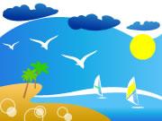 beach-vektorel-png