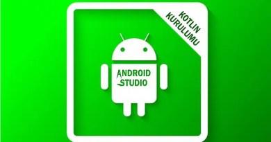 Android Studio ve Kotlin Kurulumu