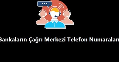 Bankaların Çağrı Merkezi Telefon Numaraları