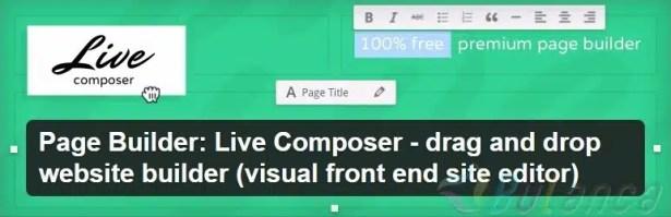 Page Builder Live Composer