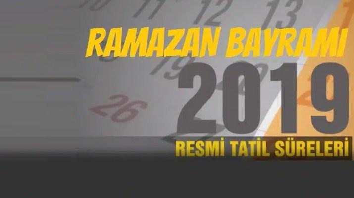 RAMAZAN BAYRAMI 2019