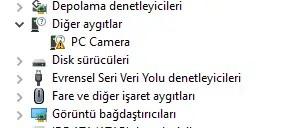 a4tech webcam sorunu