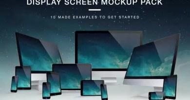 ekran mockup paketi