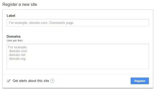 reCAPTCHA kodu
