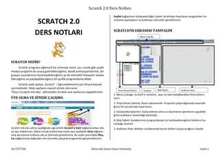 scratch 2 ders notları