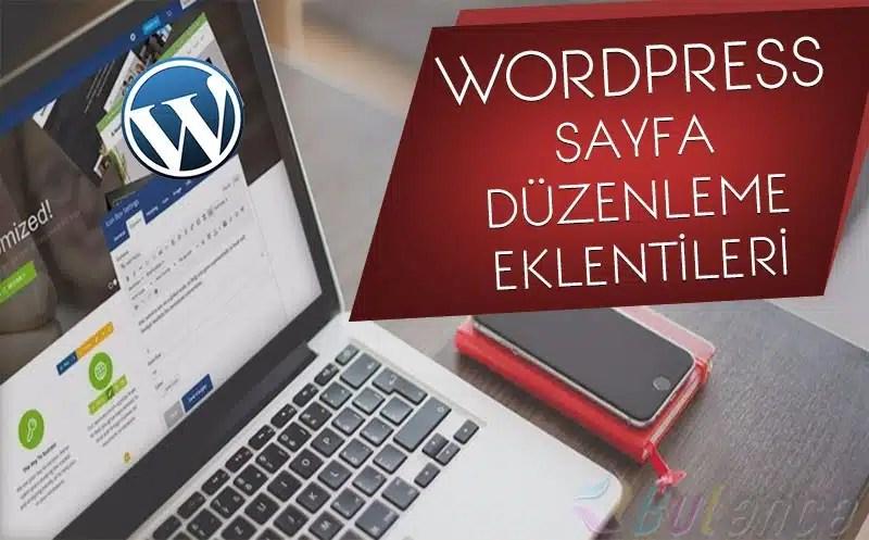 En İyi 4 WordPress Sayfa Düzenleme Eklentisi