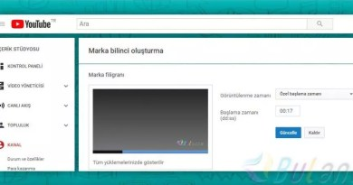 youtube marka filigranı