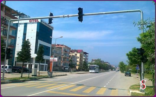 Bulancak'ta Trafik Lambası Sorun Oldu
