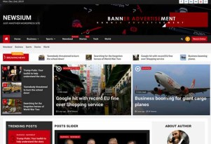 WordPress Newsium Tema