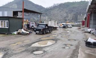 Giresun Belediyesi asfaltlama çalışmalarını sürdürüyor