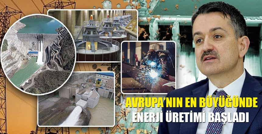 Avrupa'nın En Büyüğünde Enerji Üretimi Başladı