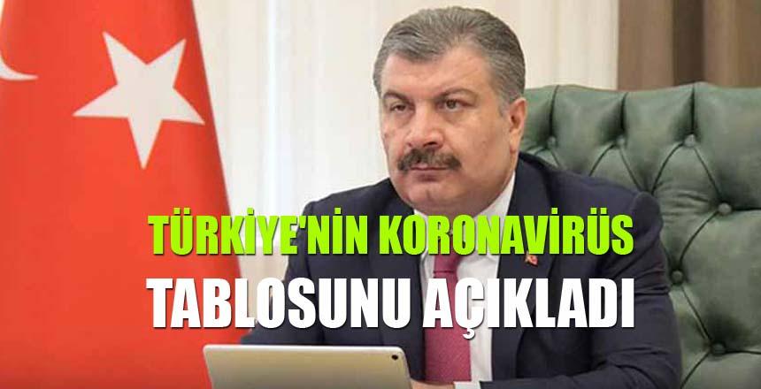 Türkiye'de son 24 saatte 9.205 yeni vaka!