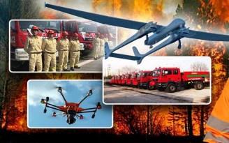 Orman Yangınlarına Karşı İlk Kez İHA'lar Kullanılacak