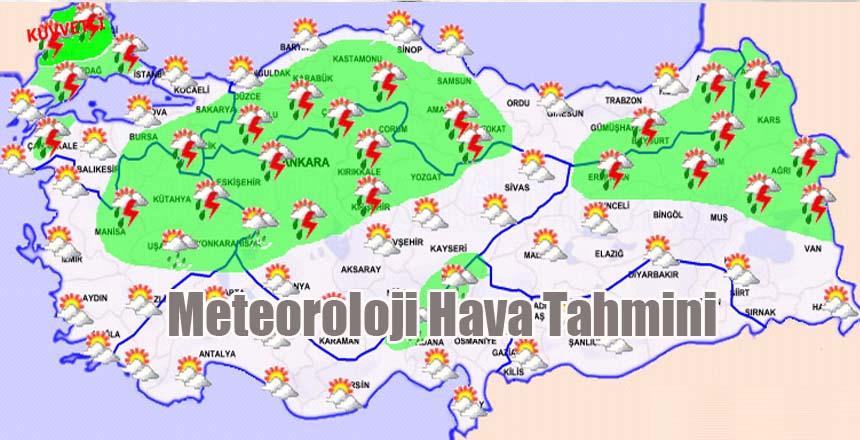 Meteoroloji Günlük Hava Tahmini