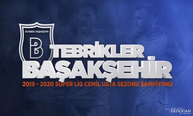 Medipol Başakşehir Futbol Kulübü Şampiyon
