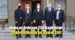 Hopa ve Ardeşen TSO Başkanları Çakırmelikoğlu'nu Ziyaret Etti