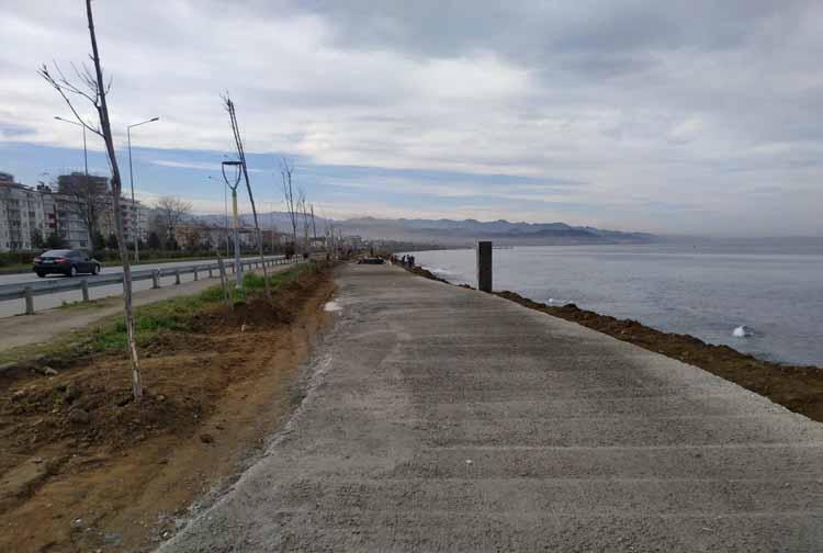 Bisiklet ve Yürüyüş yolu Yapımına Başlandı!