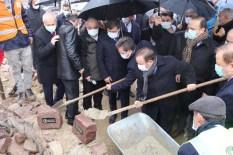 Şehit Binbaşı Hüseyin Avni Alparslan'ın anıt mezarının temeli atıldı!