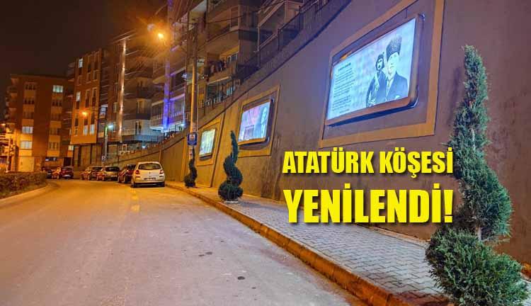 Atatürk Köşesi Yenilendi!