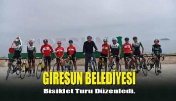 Bisiklet Turu Atatürk Meydanı'nda Tamamlandı.