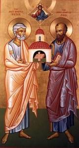 Св. Апостoли Петър и Павел