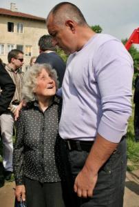 На парламентарните избори тази година се оказа, че много от старите столичани-демократи са гласували за ГЕРБ. Все още кмет на София, лидерът Бойко Борисов успя да отвори детска градина ж Казичене. ФОТО:БДЕМОНИ