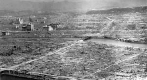 Хирошима след ядерния взрив.ФОТО:Уики
