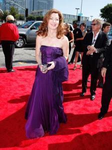 Актрисата Дана Дилейни, позната ни като Katherine Mayfair от хитовият сериал Desperate Housewives на червения килим пред НОКИА Тиатър преди връчването на 61-те награди ЕМИ.