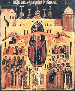 Пресветата Дева Мария - на Нея да се уповаваме, към Нея да прибягваме: под Нейния покров дори косъм от главите ни няма да падне, а ние само нека с умиление да Я призоваваме и да И се молим: