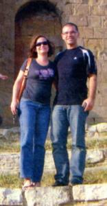 Керолайн и Симеон винаги намират време за разходка в САЩ.