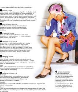 Как се отразява стреса на организма на човека? Картинка от вестник