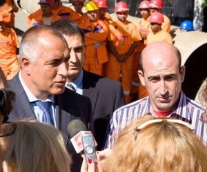 Октомври 2009г., Премиерът Борисов заяви, че правителството има готовност да подпомогне кметовете за решаването на най-неотложните проблеми на градовете им. ФОТО: Регион Сливен