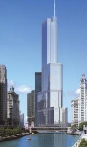 Willis Tower, Чикаго, САЩ, известна преди това като Сиърс Тауър е с височина 443 м, а етажите са 110. Начало на строителството започва през август 1970 г. и е завършена на 4 май 1973 г. Идеята за създаването на сградата идва от 9 цигари, образуващи квадрат и впоследствие размествани една спрямо друга, за да се получи разчупената архитектура. Уилис Тауър е най-високата сграда в САЩ, а в света е най-висока от кота 0 до върха на антените, и 4-та в класацията без тях. Сега градът има шансът да стане и първото място в САЩ с български център, построен от държавата.