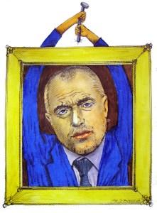 Бойко Борисов сам закачи снимката си в кулоарите на Министерски съвет. Борисов призна,че