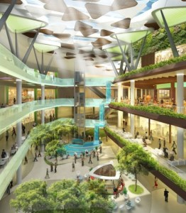 Bulgaria Mall has one of the biggest skylights in Central and Eastern Europe. It is upper scale mall, focusing on the proper combination of medium to premium international brands with the highest quality Bulgarian retailers.