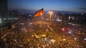 В протестите в Турция взеха участие десетки хиляди души. ФОТО: theepochtimes.com