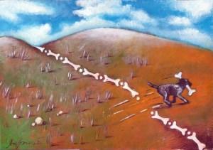 Куче влачи - диря няма! Карикатура: Анатоли Станкулов