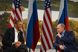 С този Фаустовски пакт г-н Путин спаси изчервяването на Обама у дома си в замяна на драматична загуба на американското лице в чужбина. Фото: http://nymag.com (Photo credit should read JEWEL SAMAD/AFP/Getty Images)