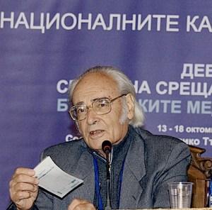 Академик Антон Дончев, в ексклузивно интервю за bulgarica.com. Авторът на 50-годишния български роман-класика