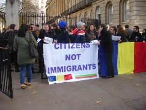 Основното искане на българи и румънци е да имат равни права на Острова като европейски граждани.
