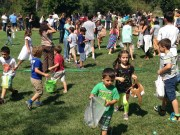 20 Април 2014 г. Българчетата в Сан Диего гонят в парка своите яйчица по време на специално организираната игра