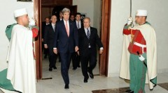 Secretary Kerry, Algerian FM Lamamra Pass Through Honor Guard After Arrival Ceremony. Photo: http://www.state.gov