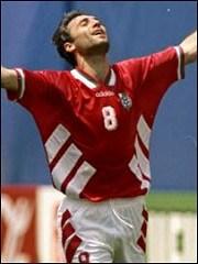 Стоичков, голмайсторът на Световното първенство по футбол в САЩ 1994г.