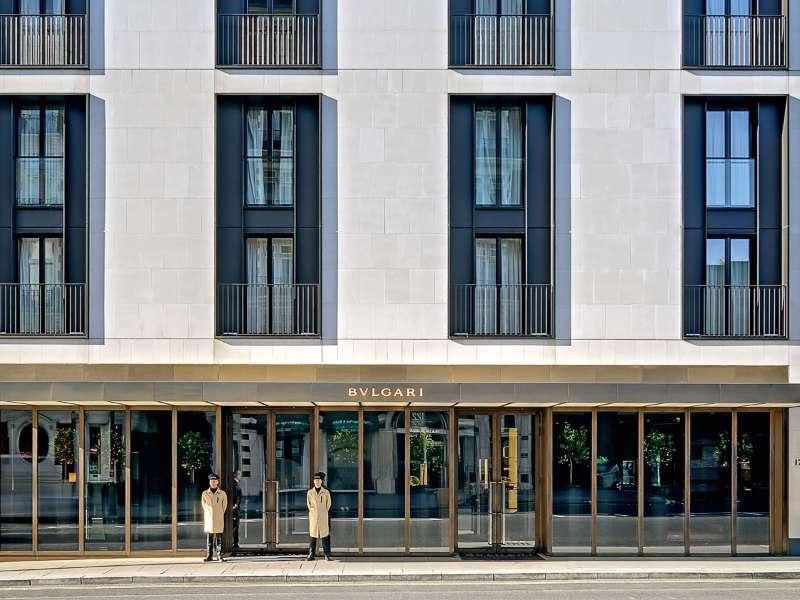 Luxury 5 Stars Hotel In London Bvlgari Hotel London