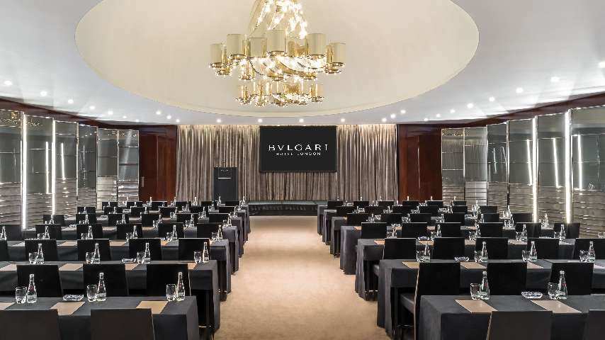 Luxury Ballroom in London Luxury Hotel  Bvlgari Hotel London